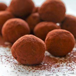 Cacao en Polvo y Trufa