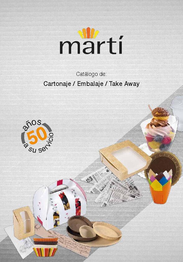 Martí Catálogo Cartonaje- Embalaje & Take Away 2018-thumbnail