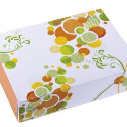 Caja rectangular para pastas modelo adel