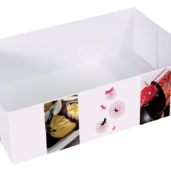 Cubeta rectangular sin tapa modelo trio