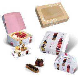Cajas rectangulares y cuadradas